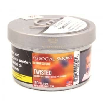 Social Smoke 100g twisted tabak