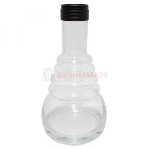 caesar mps ersatzglas flat shining transparent black